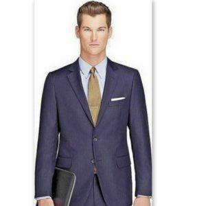 Brooks Brothers 44L Explorer Fitzgerald Suit Navy